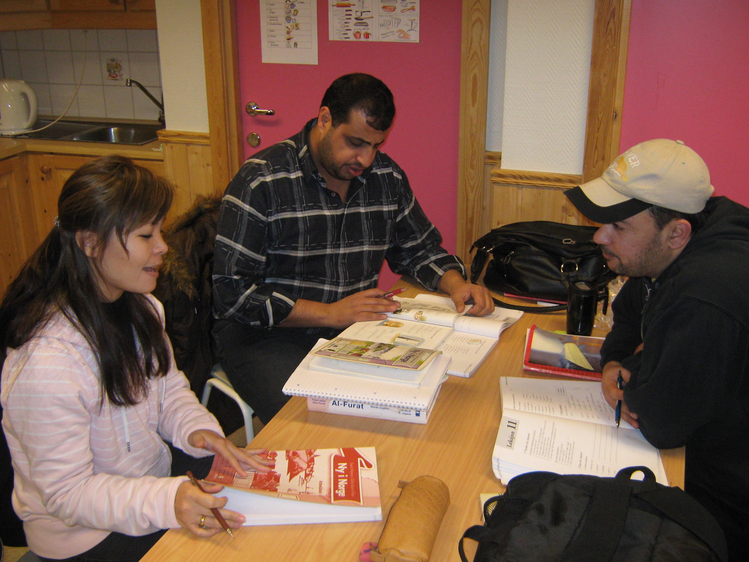 Illustrasjonsfoto som viser opplæring av fremmedspråklige