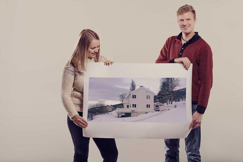 Illustrasjonsfoto for Bygge og bo