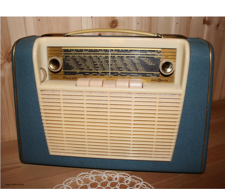 Bilde av retro radio
