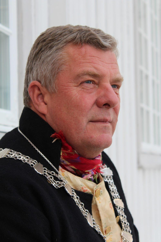 Portrettbilde av ordfører Hans Vintervold