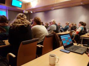 Oppslutningen var stor da den nye nettsiden ble presentert. mange ansatte i alle tre kommuner har vært involvert og gjort en stor jobb for å få på plass de nye nettsidene