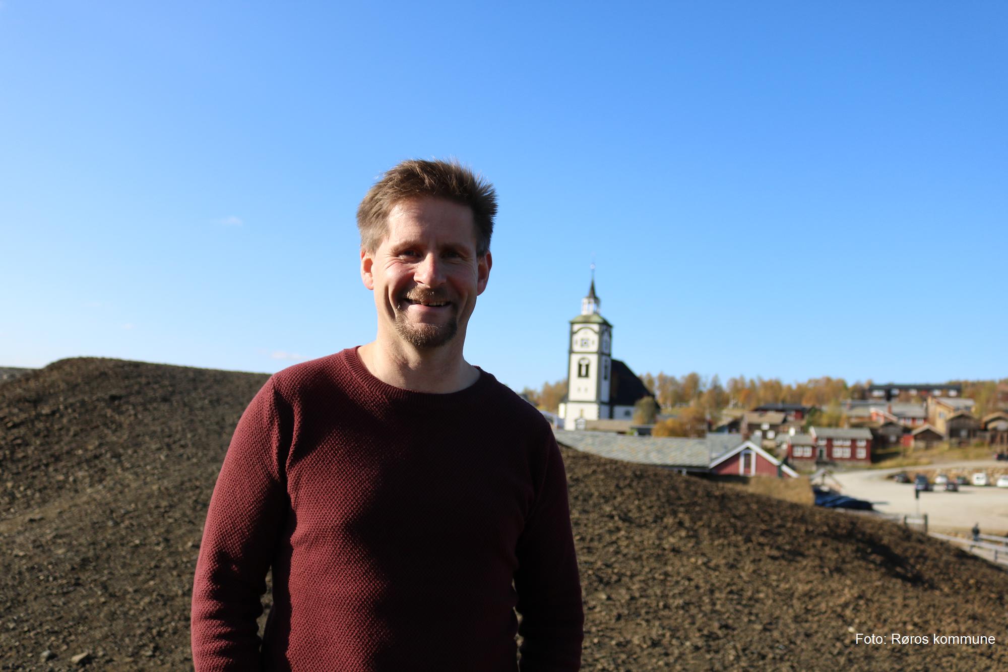 Rådmann Bernt Tennstrand, foto: Røros kommune