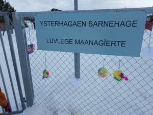 Kunst i møtet med Ytsterhagaen barnehage Luvlege Maanagïerte