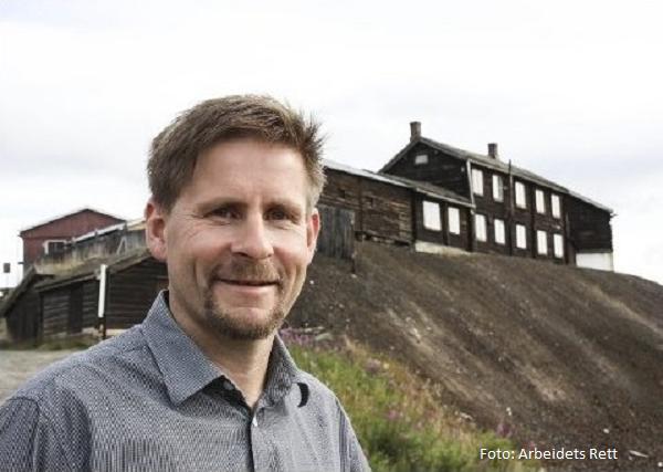 Bilde av rådmannen i Røros kommune Bernt Tennstrand