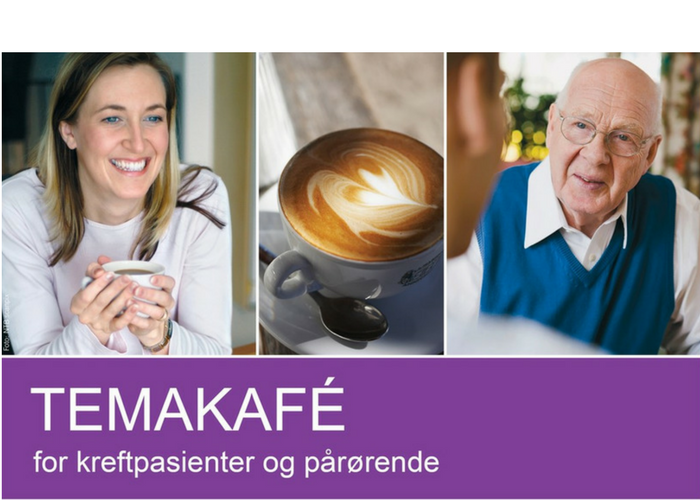 Temakafé for kreftpasienter og pårørende 27. april