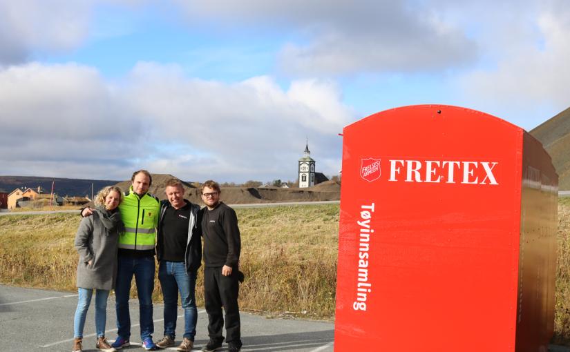 Pilotprosjekt: Røros kommune og Fretex søker single sokker