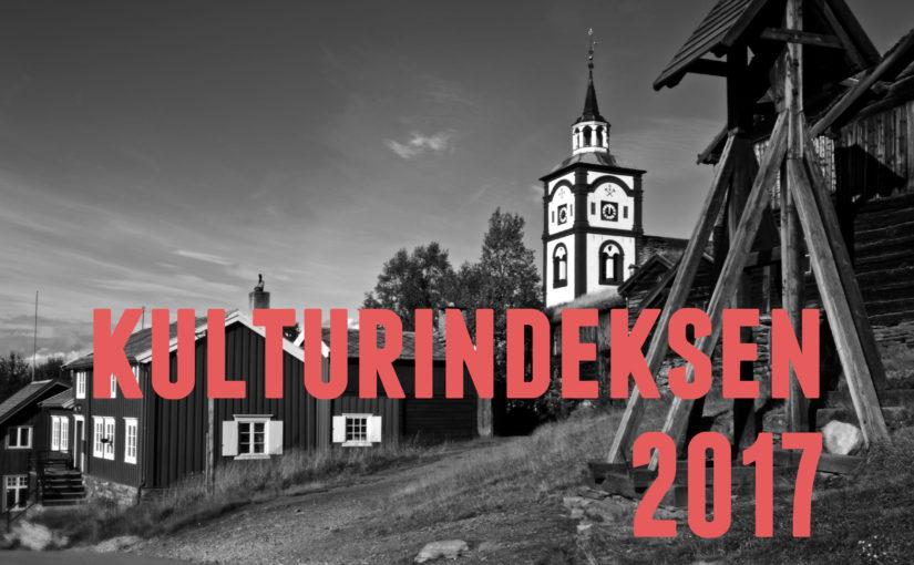 Kulturindeksen 2017 – Røros kommune rangert øverst igjen!