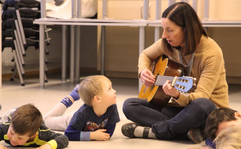 Samarbeidsprosjekt mellom kulturskolen og barnehagene