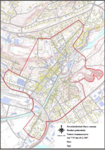 Kart over området med fyrverkeriforbud