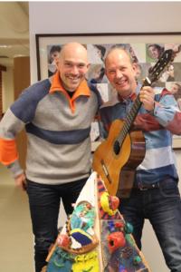 Virksomhetsleder for Røros barnehage, Inge Aas og virksomhetsleder for kulturskolen, Nils Graftås har stor tro på prosjektet.