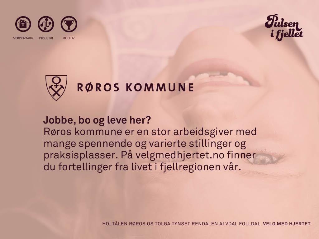 Illustrasjonsfoto ledige stillinger Røros kommune_velg med hjerte