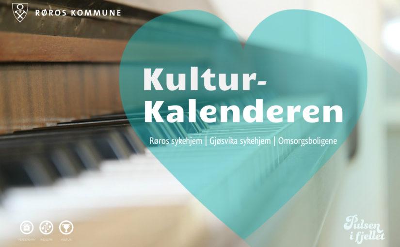 Kulturkalenderen for sykehjem og omsorgsboliger   Høst 2018