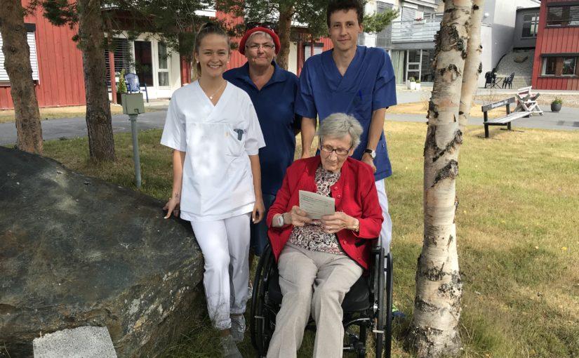 Nytt aktivitetstilbud ved sykehjemmet på Øverhagaen