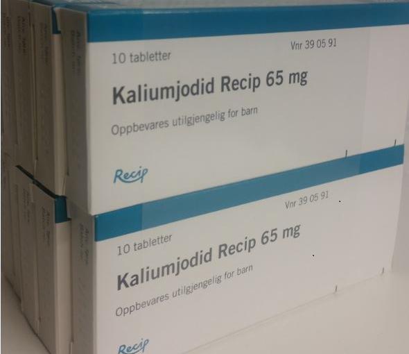 Jodtabletter -hjemmelagring – salg fra apotek