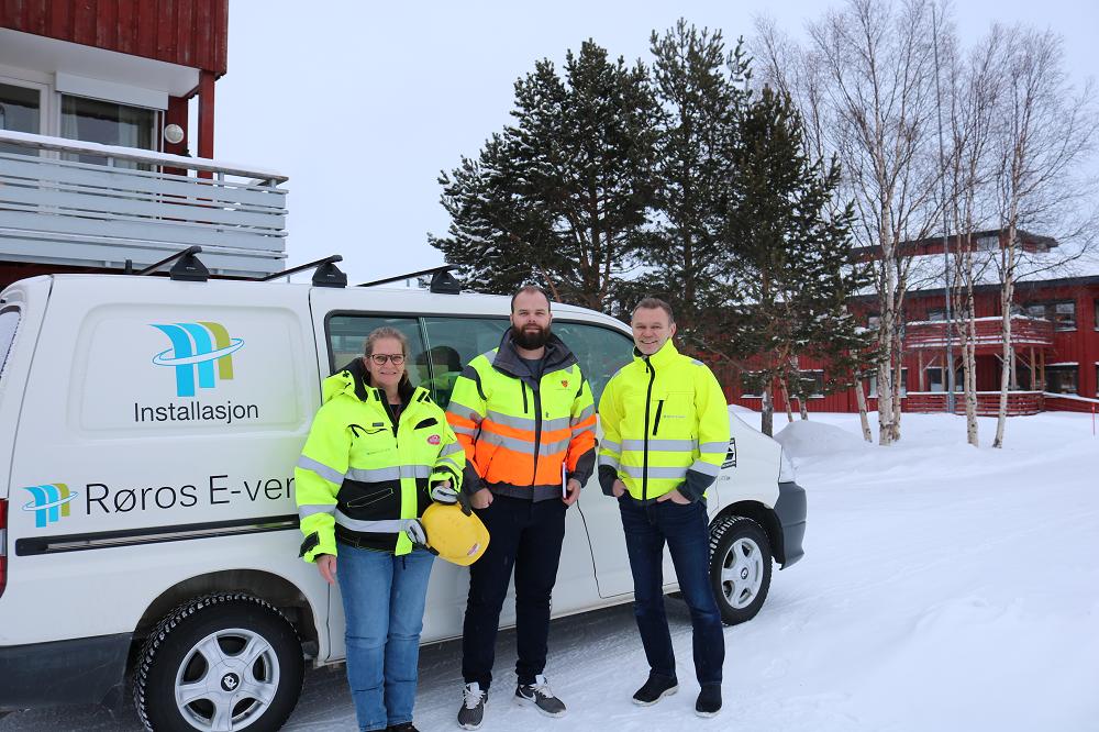 Røros E-verk vant kontrakt med Ruta om Øverhagaen Bo-, Helse og Velferdssenter