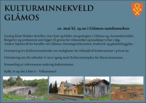 Kulturminnekveld_Glåmos