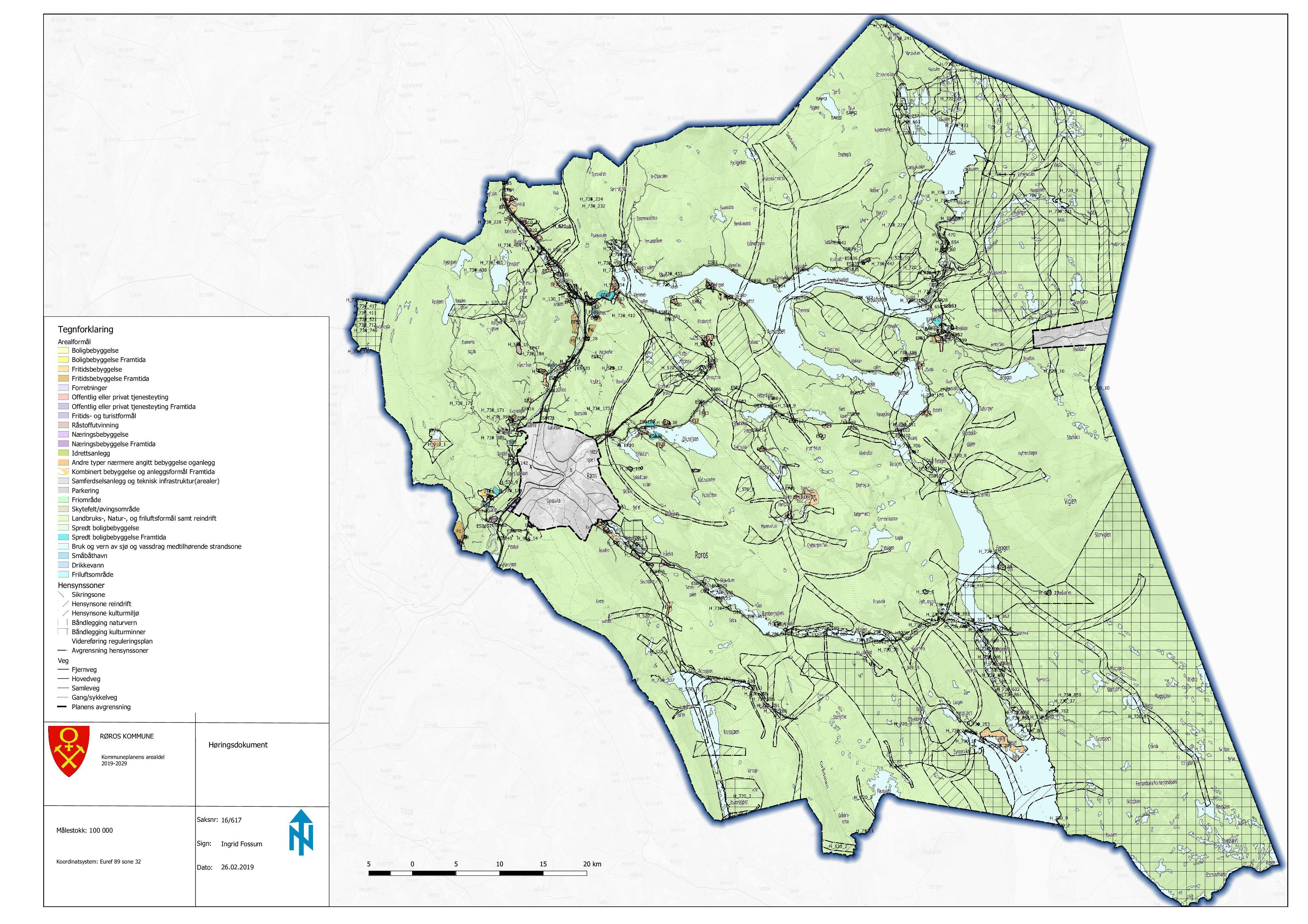 Oppheving av eldre reguleringsplaner i Røros kommune