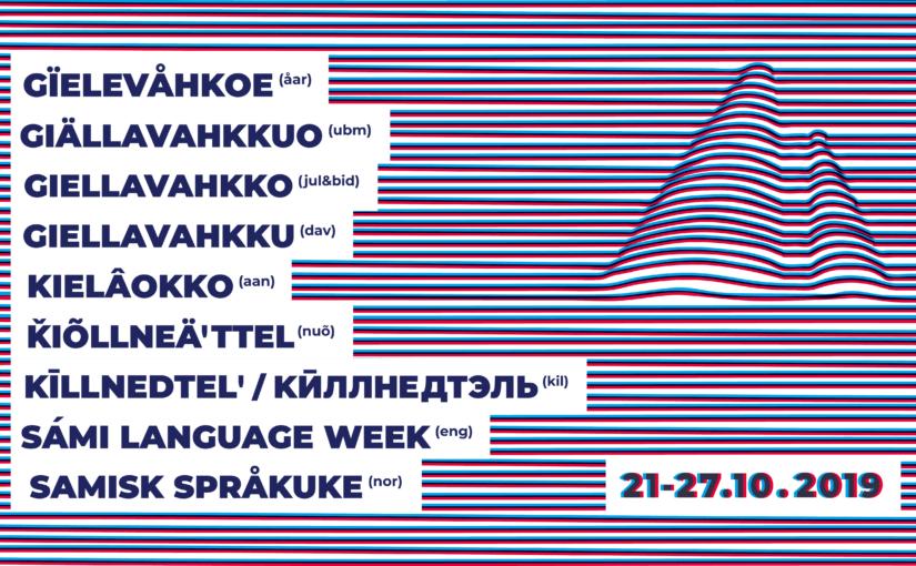 Gïelevåhkoe – samisk språkuke 2019