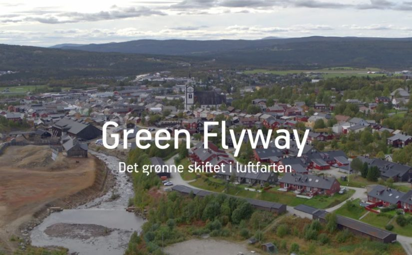 Vi deltar i prosjektet Green Flyway – en testarena for el-fly, droner og luftfarstkontroll