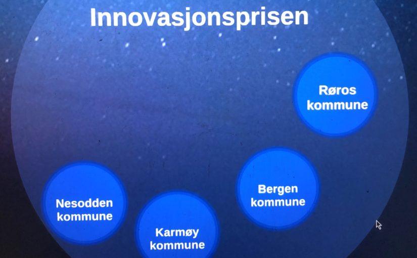 Røros kommune nominert til innovasjonspris for bruken av budsjett- og analyseverktøyet Framsikt