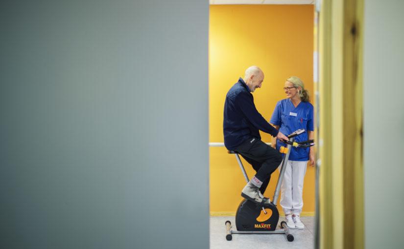 Fysioterapeutene og ergoterapeutene åpner gradvis for behandling igjen