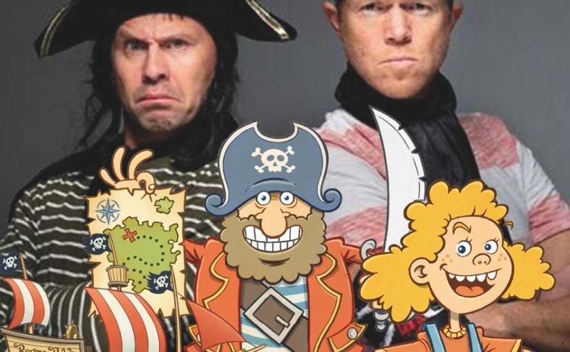 Hør bok om kaptein Skrekk!