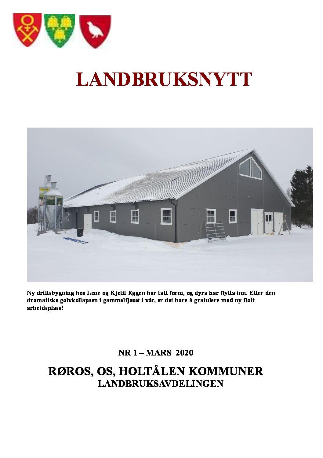 Landbruksnytt mars 2020