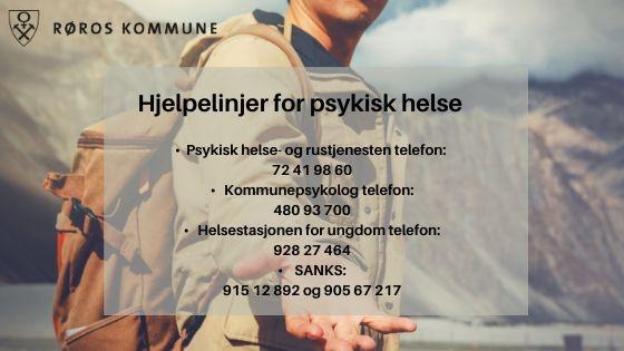 Telefonhjelp for god psykisk helse