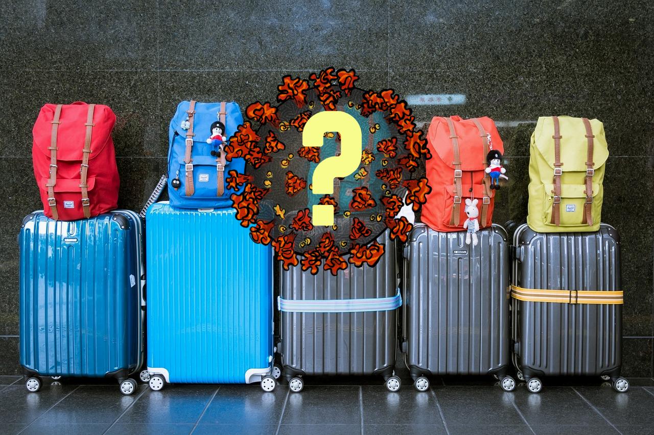 Bilde av kofferter og sekker