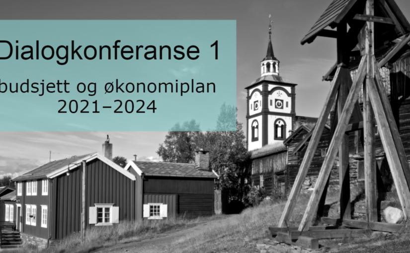 Dialogkonferanse 1 – kommunestyret, tillitsvalgte og virksomhetslederne samles for budsjettarbeid