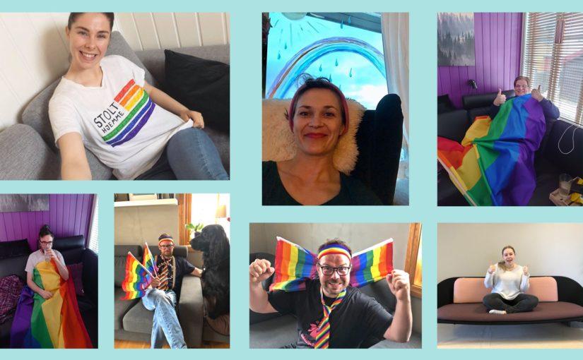 Bli med på Røros Pride sin digitale markering #stolthjemme!