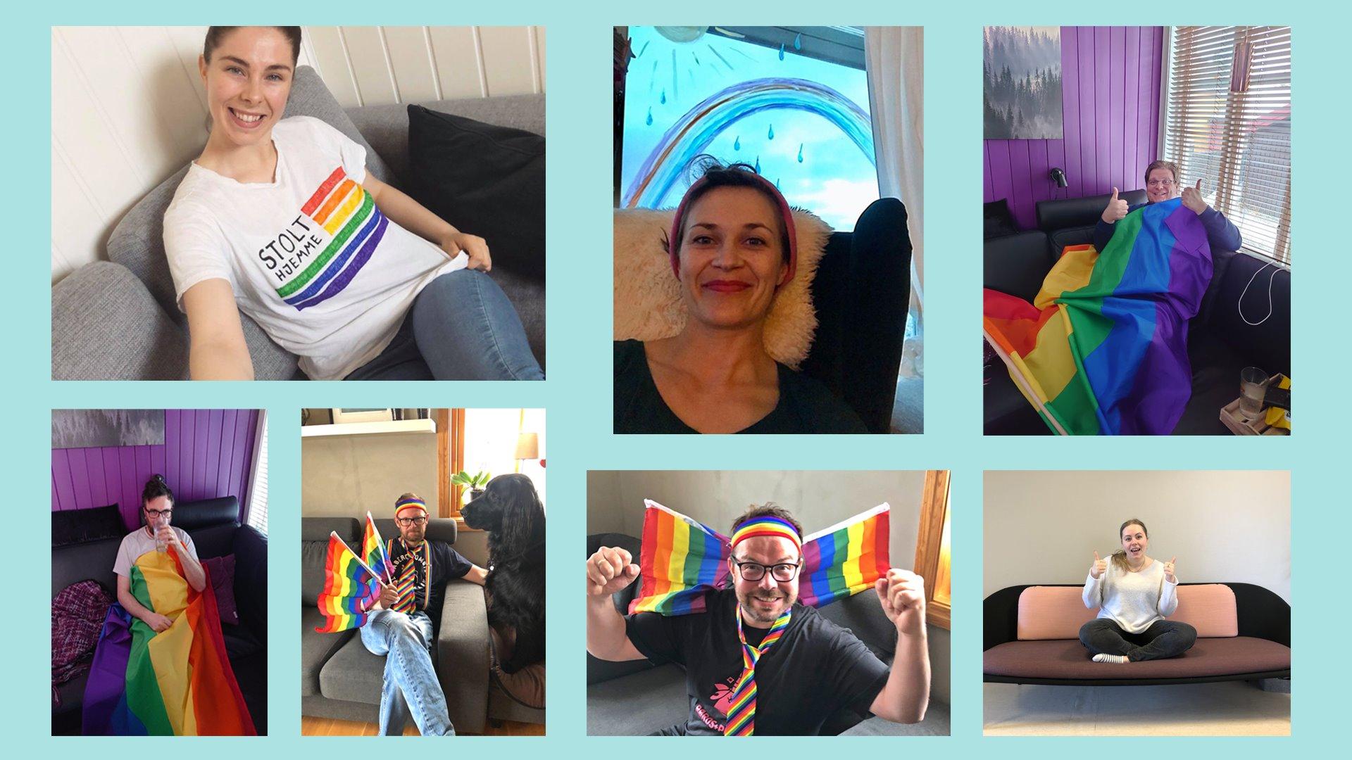 Illustrasjonsbilde Røros Pride
