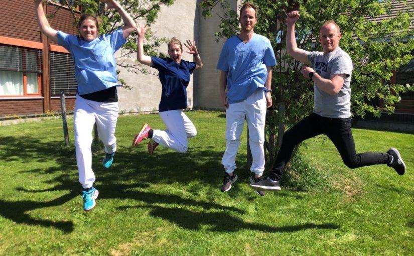 Fysioterapitjenesten, hjemmetjenesten og virksomhetsleder for helse flytter midlertidig inn på Unicare
