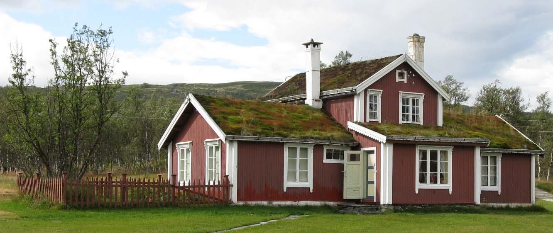 Bilde av hus på Ratvolden