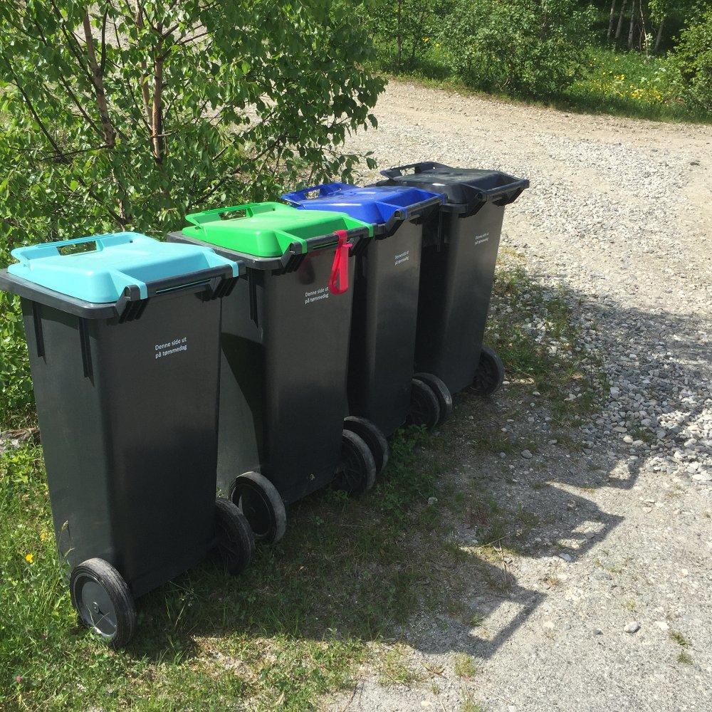 Ny renovasjonsordning - søppeldunker