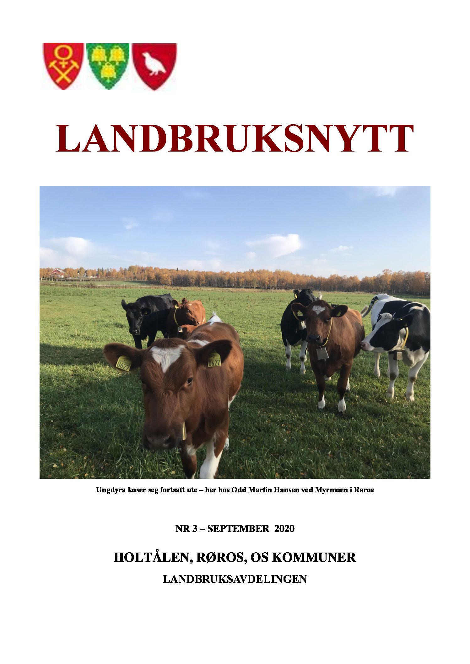 Landbruksnytt september 2020