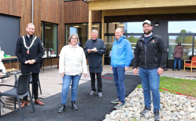 Offisiell åpning av Øverhagaen bo-, helse- og velferdssenter i dag