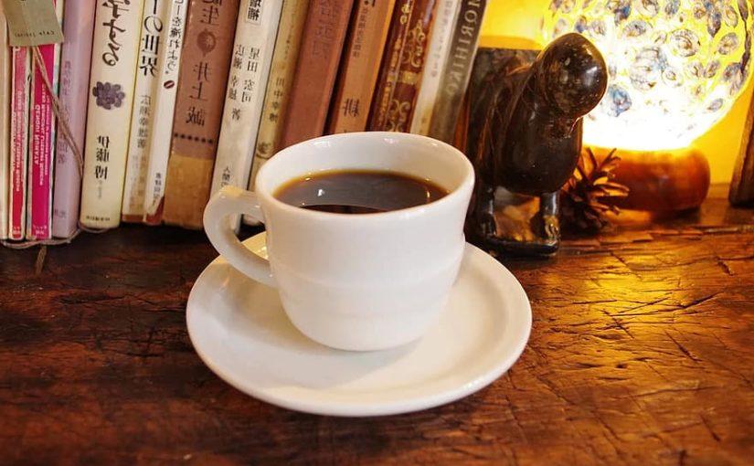 Bokcafe på biblioteket