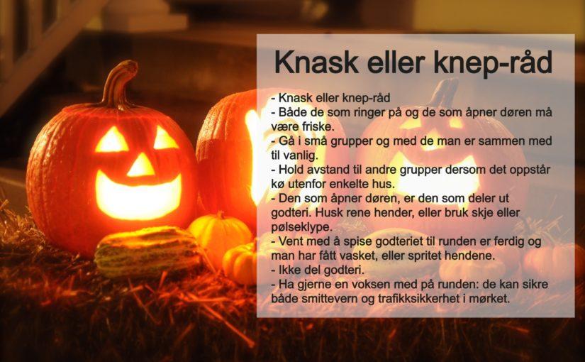 Gode Halloween-råd – slik ivaretar du smittevernet