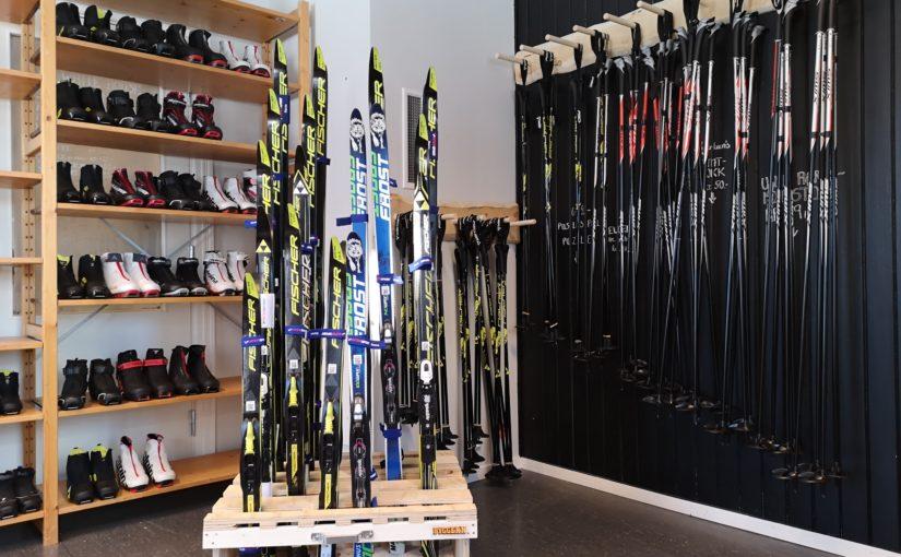 Snart kan du låne gratis sport-og fritidsutstyr på Røros.