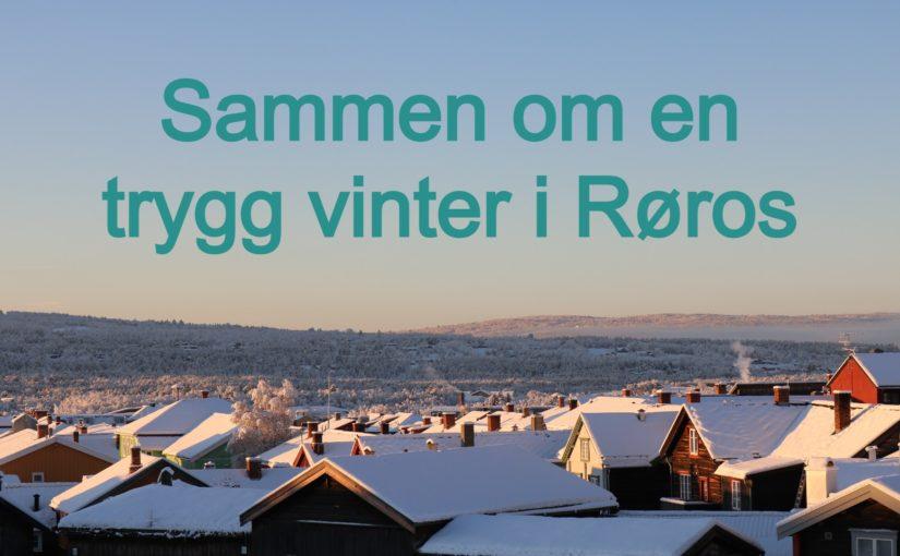 Sammen om en smittefri vinterferie i Røros
