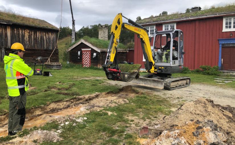 Nye opplysninger om bosetting ved Aasengården på Røros