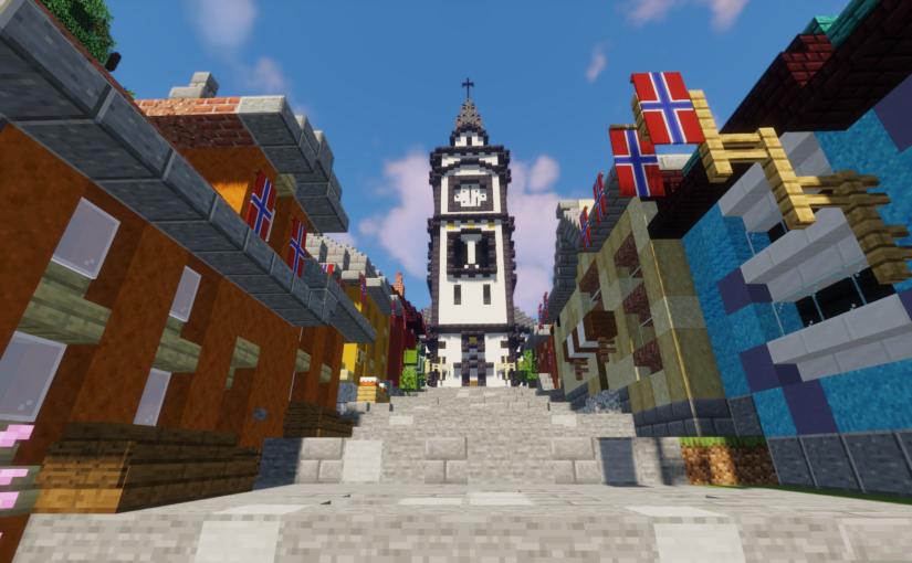 Bli med i 17. maitog i Minecraft!