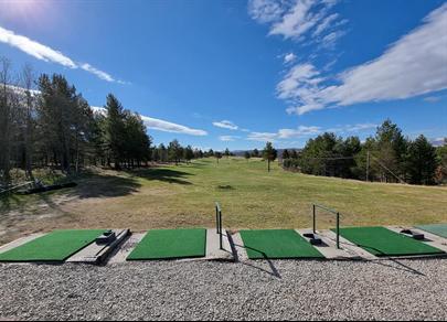foto av golfbanen på Røros