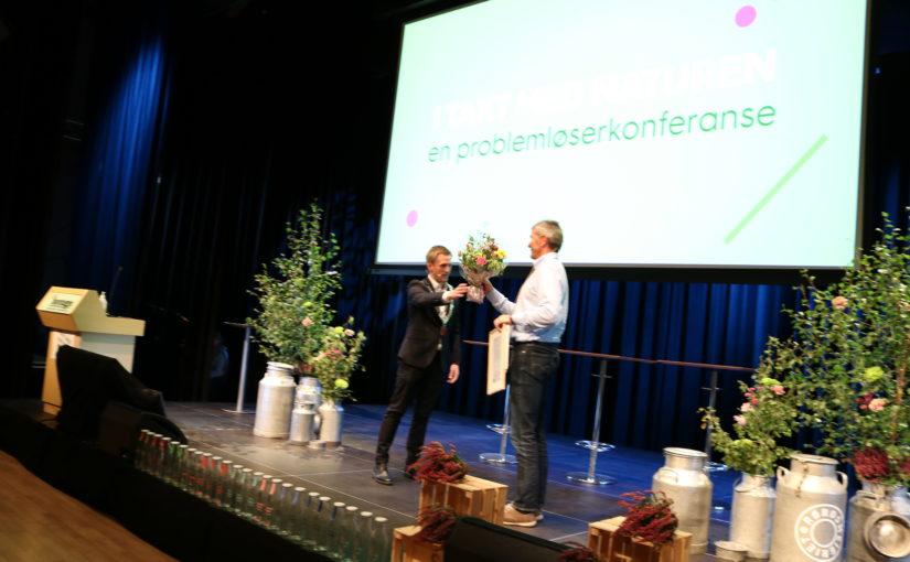 Rørosmeieriet fikk i dag tildelt Røros kommunes miljøpris for 2021