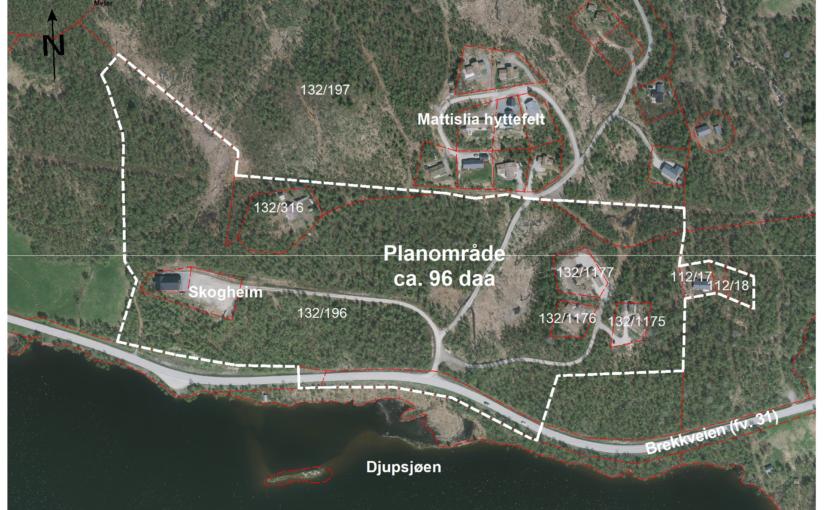 Detaljregulering Mattisvollen Østre – PlanID 20210004